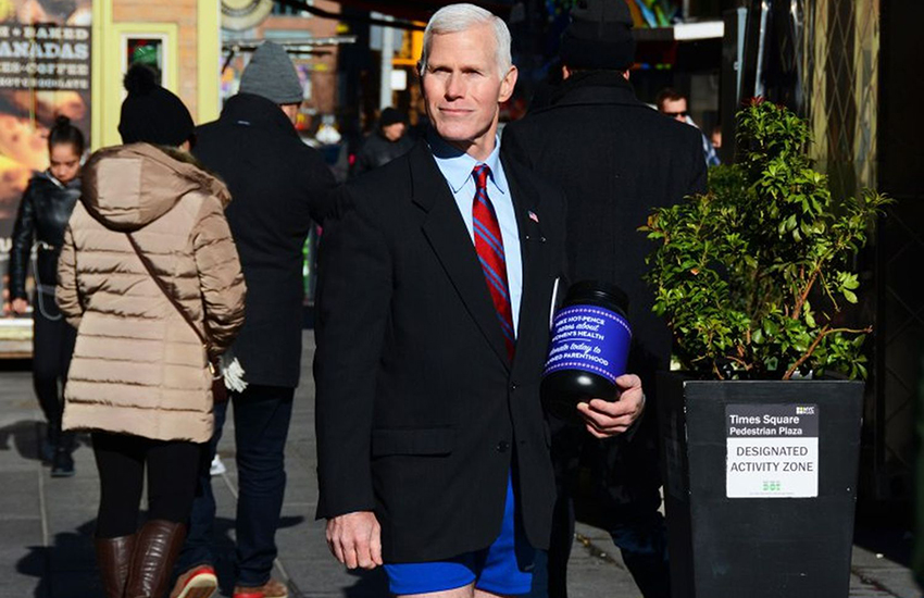 Mike Hot-Pence is raising money for liberal causes