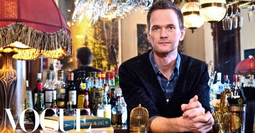 Neil Patrick Harris shows off his house in New York City.