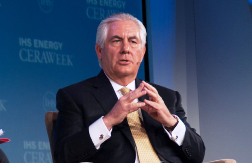Rex Tillerson has been chosen as Trump's Secretary of State