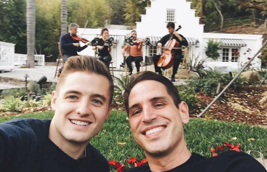 Robbie Rogers and Greg Berlanti have been together since 2013.