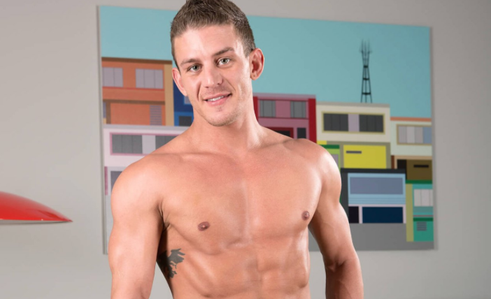 The body of gay porn star Alexander Gustavo was discovered by a fellow performer