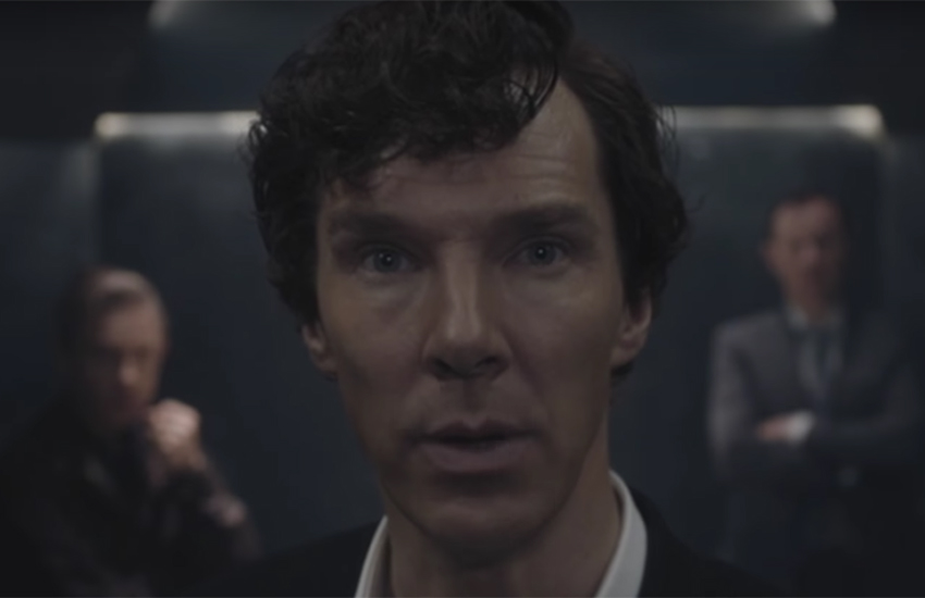 Are the show runners of the BBC's hit series Sherlock hinting at a gay romance (again)?