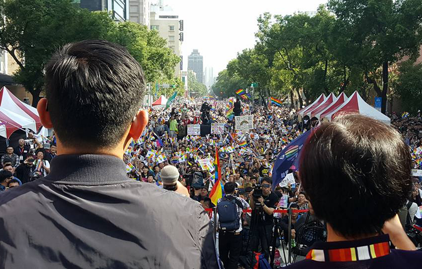 Taiwan steps closer to passing Marriage Equality Bill