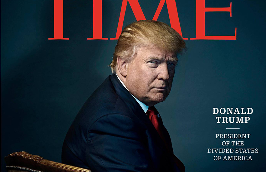 Donald Trump is TIME's 90th Person of the Year