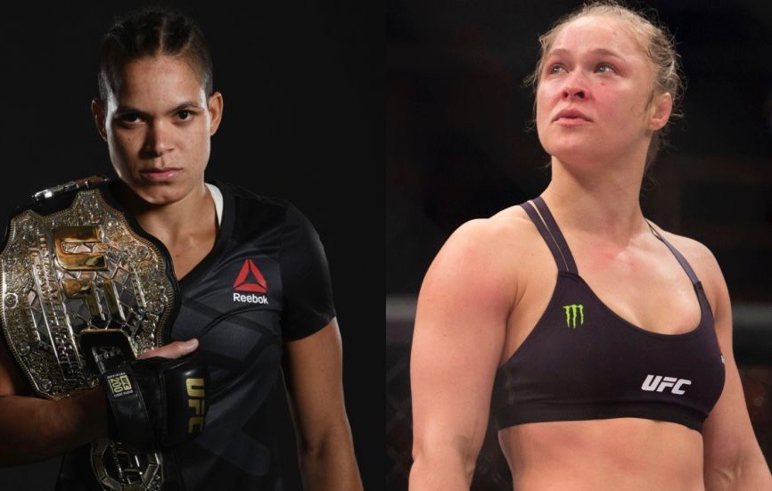 Champion Amanda Nunes defeats challenger Ronda Rousey in approximately 48 seconds