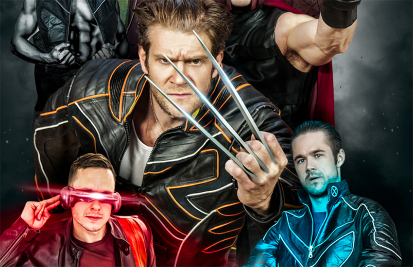 X-Men: A Gay Porn Parody? Come on, needs to be XXX-Men at least