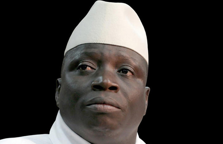 Yahya Jammeh has lost political power in Gambia
