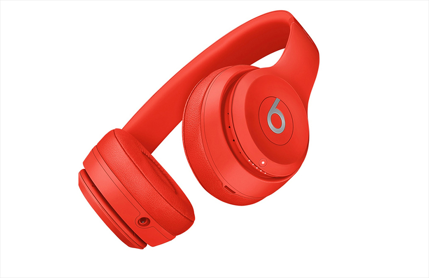 The new (Red)-edition Beats Solo 3 Wireless headphones from Apple
