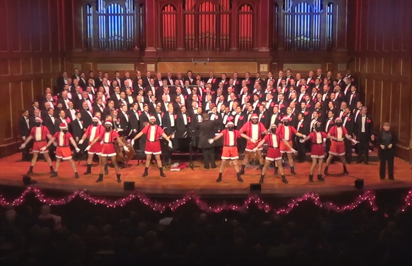 The Boston Gay Men's Chorus are one of the world's best LGBT choirs