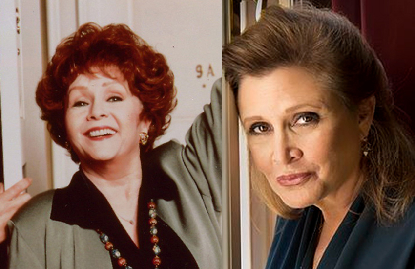 Debbie Reynolds was a proud mother to Star Wars actress Carrie Fisher