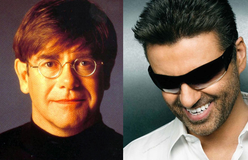 Elton John and George Michael are two of the biggest gay pop icons the UK has produced