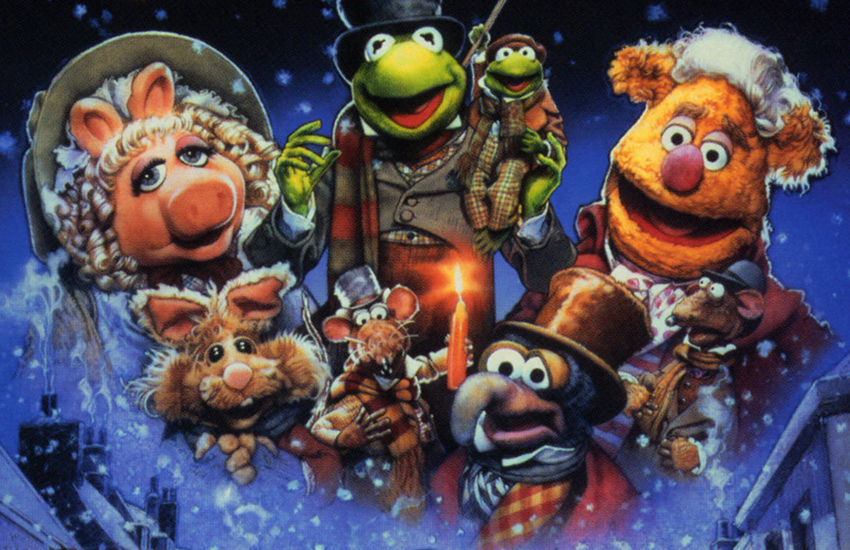 Miss Piggy, Kermit and co starred in an adaptation of Dickens's A Christmas Carol in 1992