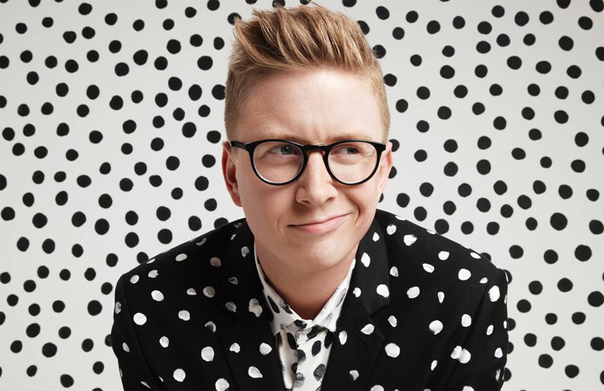 Tyler Oakley makes Forbes list for first time.