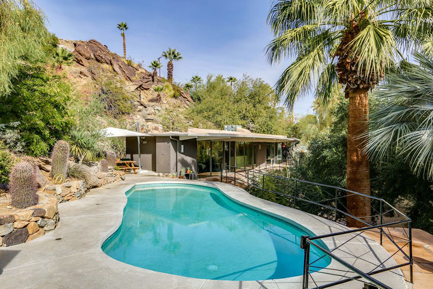 Zsa Zsa Gabor lived in the Palm Springs property in the 1960s