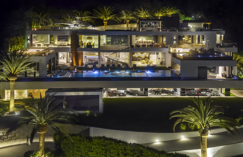 The mansion at 924 Bel Air Road comes with a $250 million price tag