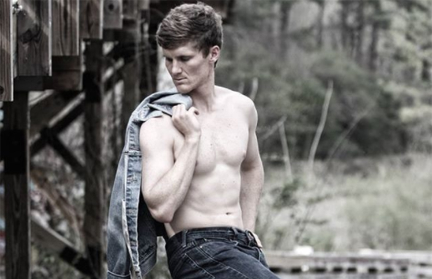 Adam McCabe still plays for a semi-professional team - and also works as a model