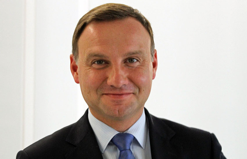 Andrzej Duda said the Constitution 'clearly and precisely' defined marriage