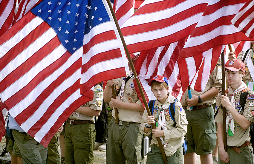 Boy Scouts of America were sued for kicking out a transgender boy.