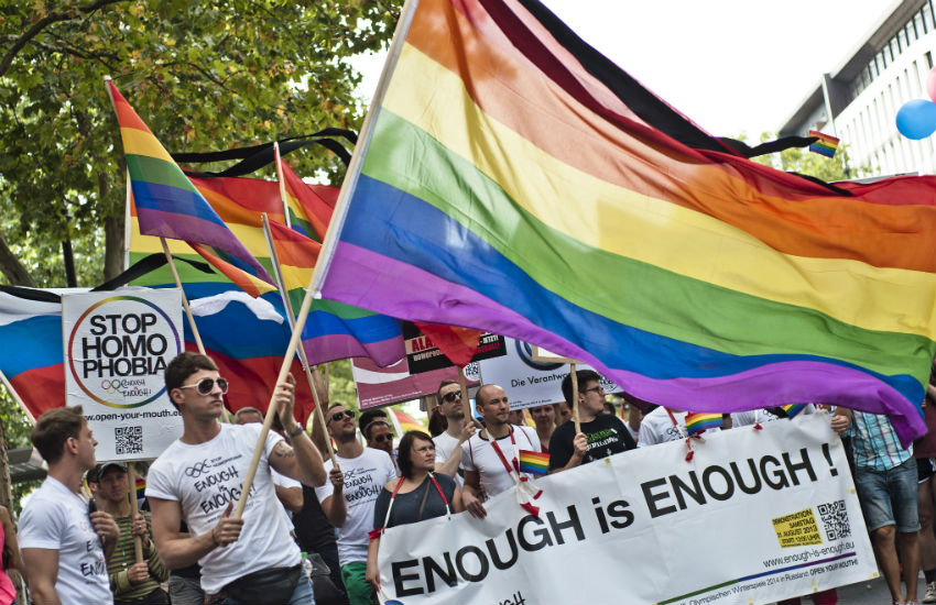 Gay rights protest will be held in London