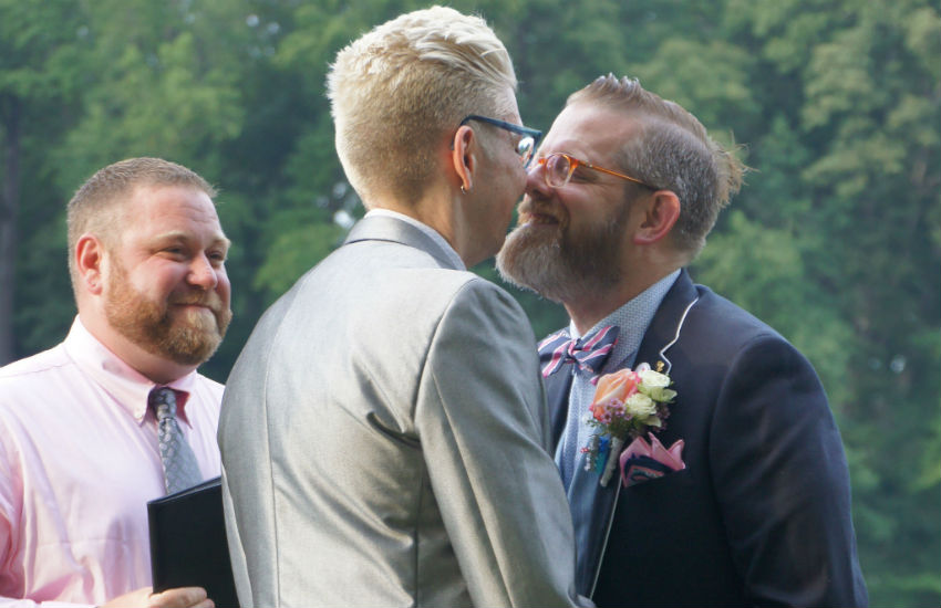 Gay wedding celebration 2014