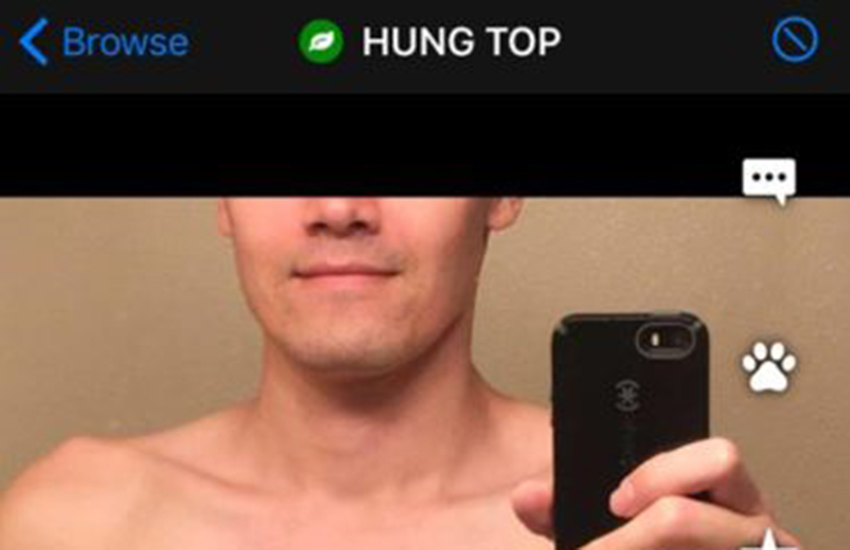 This Grindr user is allegedly repeatedly harassing a gay guy