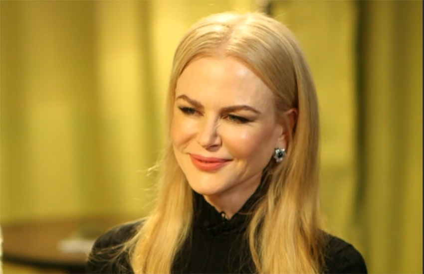 Nicole Kidman calls for same-sex marriage in Australia