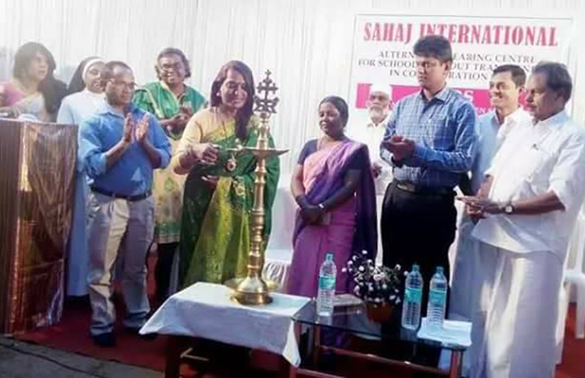 Sahaj International is the first transgender school to open in India