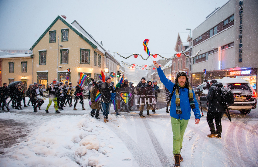 Tromsø in Norway holds the largest northern-most Pride in the world