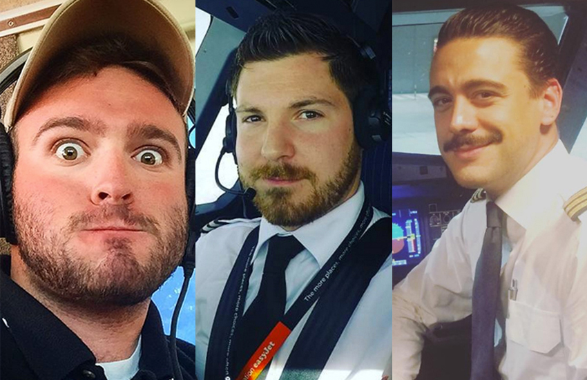 Allow us to introduce you to some of the handsome gay pilots of Instagram