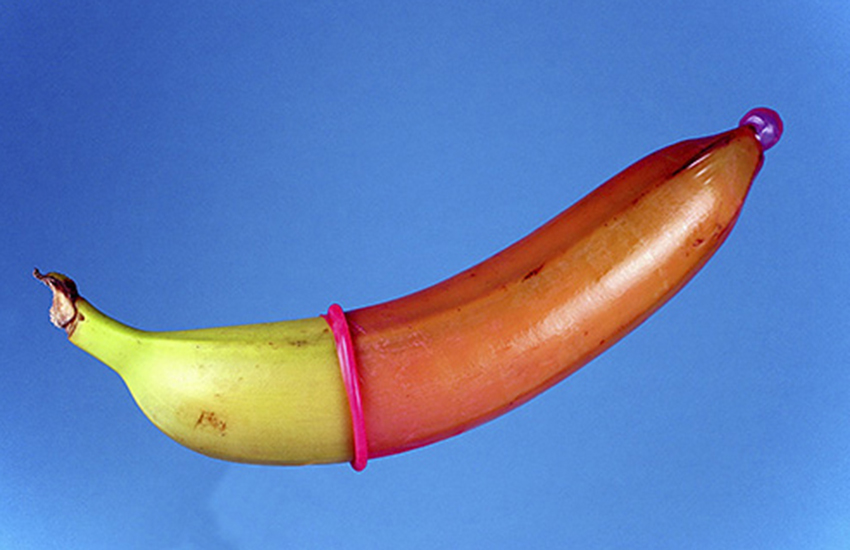 We were told to put a condom on a banana and that was pretty much it