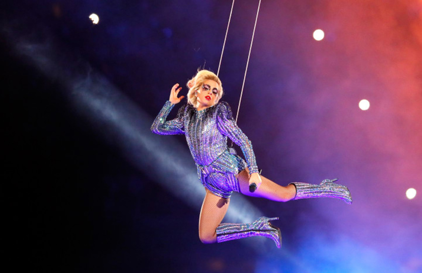 Lady Gaga performed half-time show during 2017 Super Bowl in Houston.