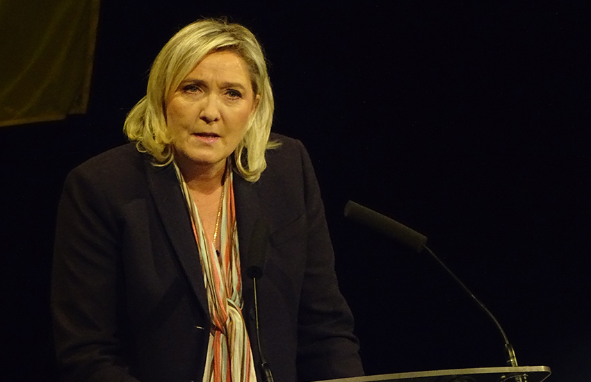 Polls suggest Marine Le Pen will win the first vote in France's presidential election