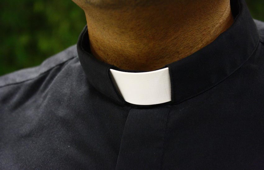 The priest was suspended for allegedly organizing sex parties