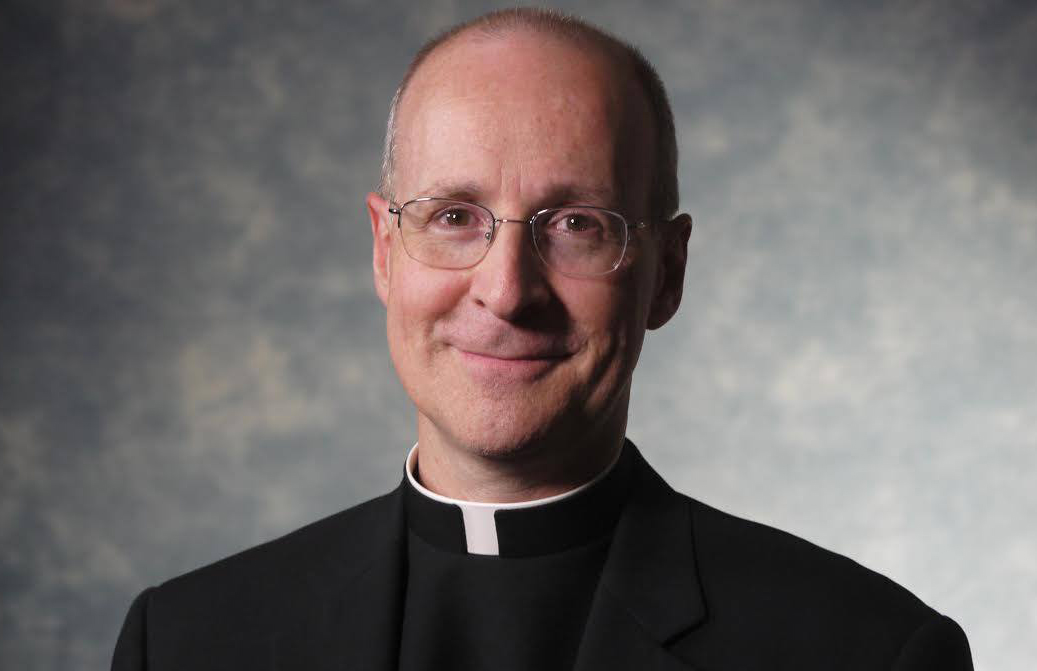 Priest James Martin takes on another priest on trans people using the restroom