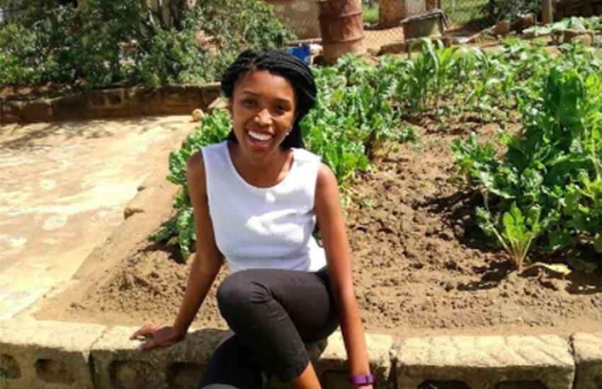 Sharon-Rose Khumalo publicly came out as intersex