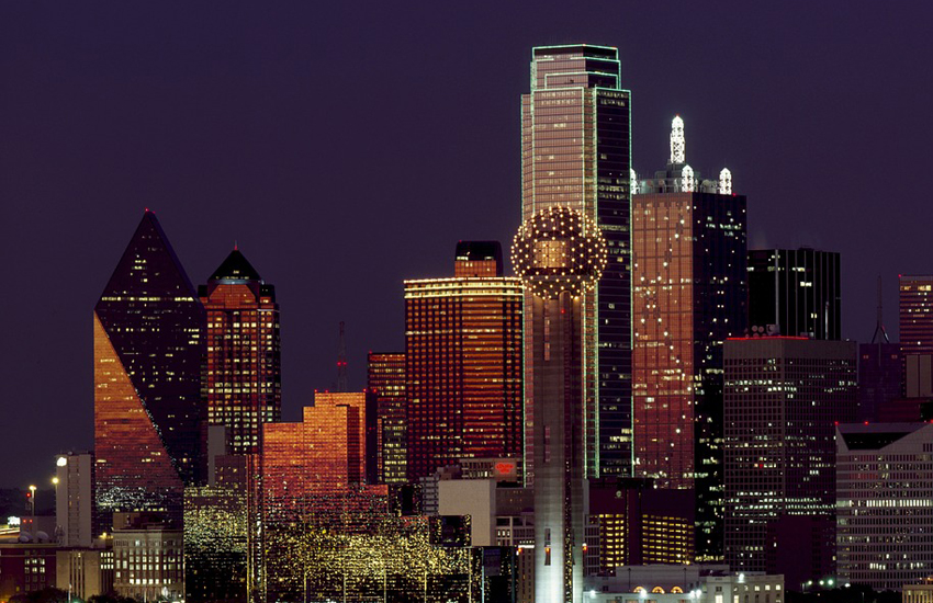 Dallas's 281m Bank of America Plaza is the tallest building in the city