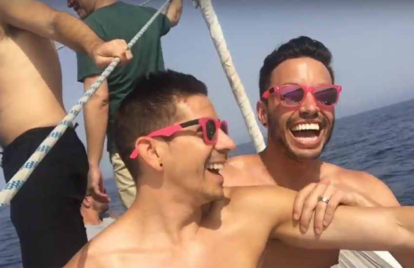 Two Bad Tourists bloggers Auston and David live it up in Gran Canaria