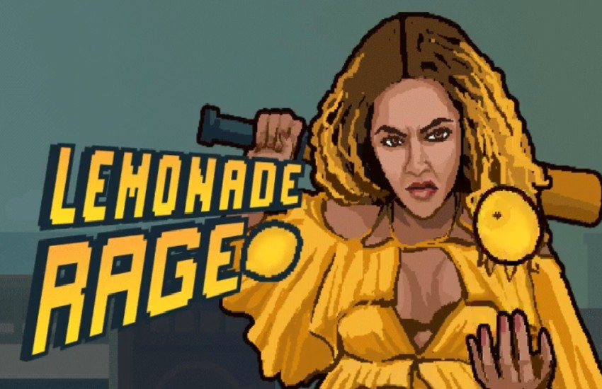 Lemonade Rage the new Beyoncé inspired video game.
