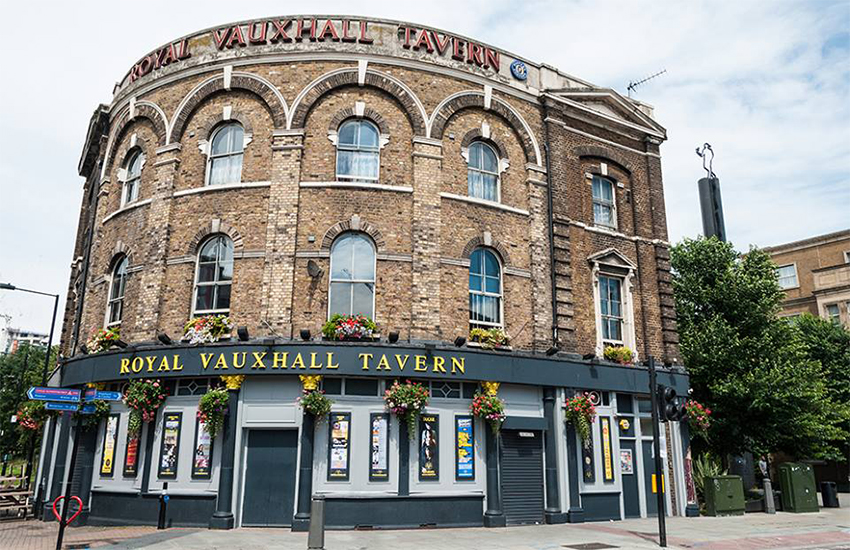 The RVT Royal Vauxhall Tavern in South London