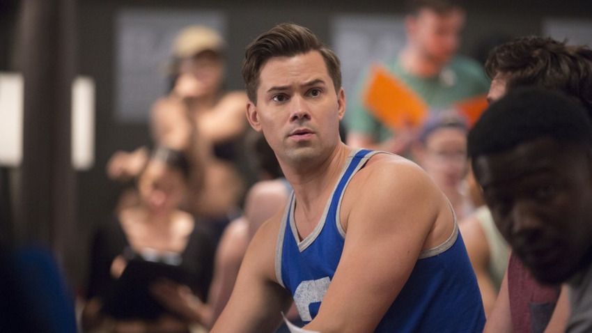 Andrew Rannells relived an audition nightmare on HBO's Girls.