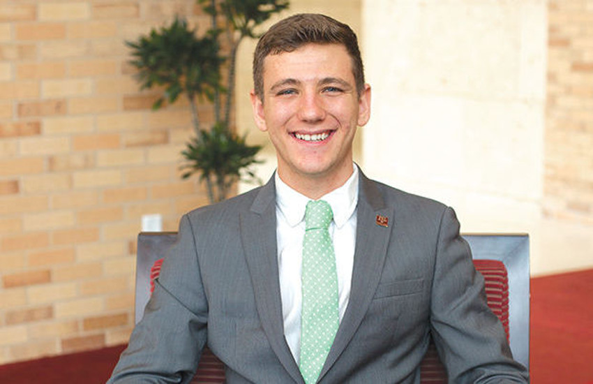 Bobby Brooks is the first openly gay student body president at Texas A&M University.