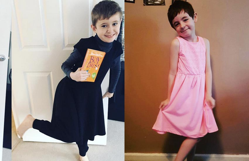 Here's to the brave kids who went as the Boy in the Dress.