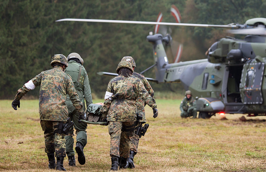 Some members of the German armed forces canceled their stay in a gay hotel because of a naked guy on the website