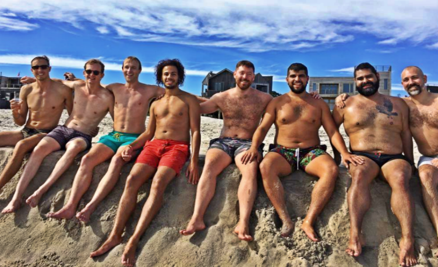Fire Island is a party hot spot for gays in the US