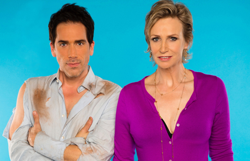 Jane Lynch and Paul Witten star in Dropping The Soap