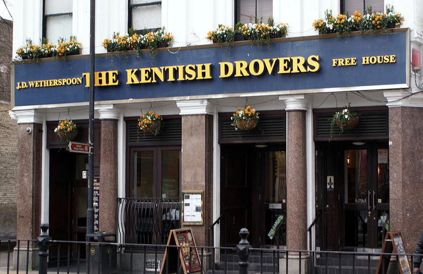 Homophobic attack in Kentish Drovers in Peckham, London