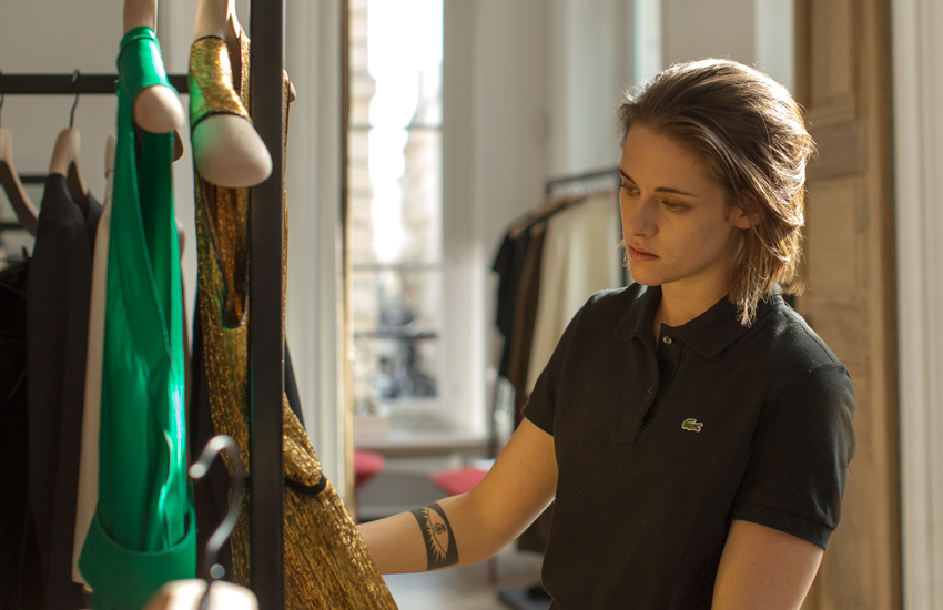 Kristen plays Maureen in new film Personal Shopper, about a PA who communicates with the dead