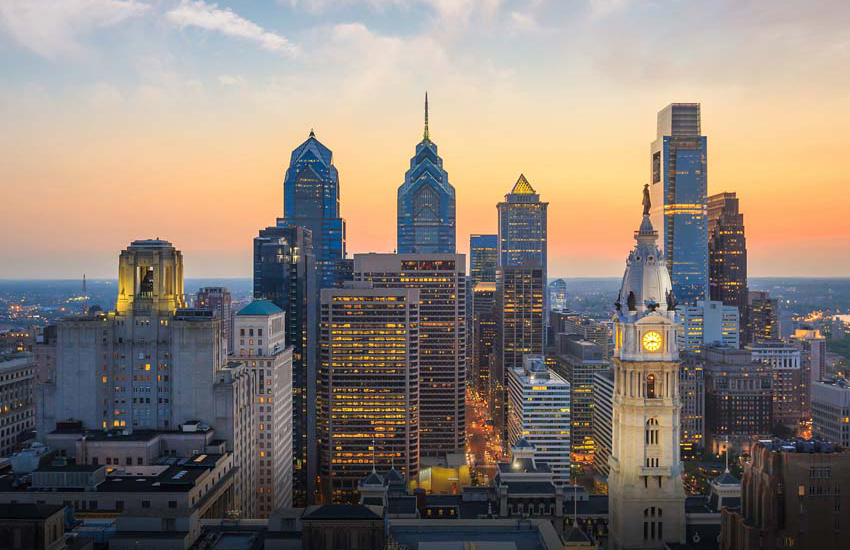 The city of Philadelphia was founded on 27 October 1682