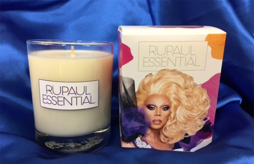 RuPaul has released her own scented candle