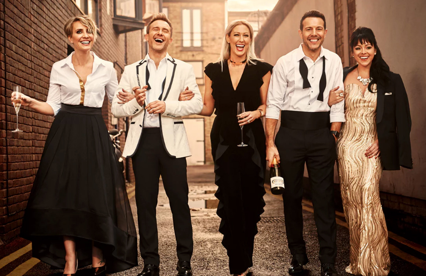 Steps are back – and they haven't aged a day